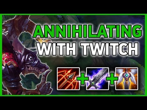 TWITCH vs KHA'ZIX (Hard Matchup Done Right) - League of Legends thumbnail