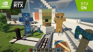 Minecraft But Rtx Is On 😍   Minecraft With RTX   Minecraft RTX Gameplay   2021