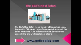 The Bird's Nest Salon - eco friendly chicago hair salon - Get Local Biz Thumbnail