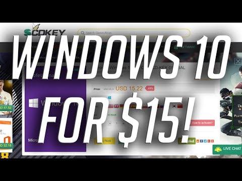 OEM Windows 10 for $15!?