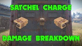 rust satchel charge damage breakdown