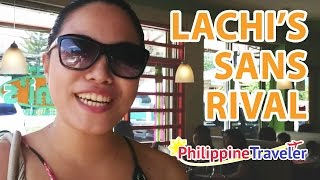 Lachi's Sans Rival: The Best in Davao!