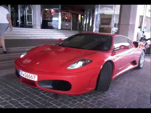 f430 sound parking in Cannes