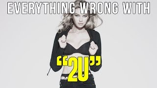"""Everything Wrong With David Guetta - """"2U (ft Justin Bieber)"""""""