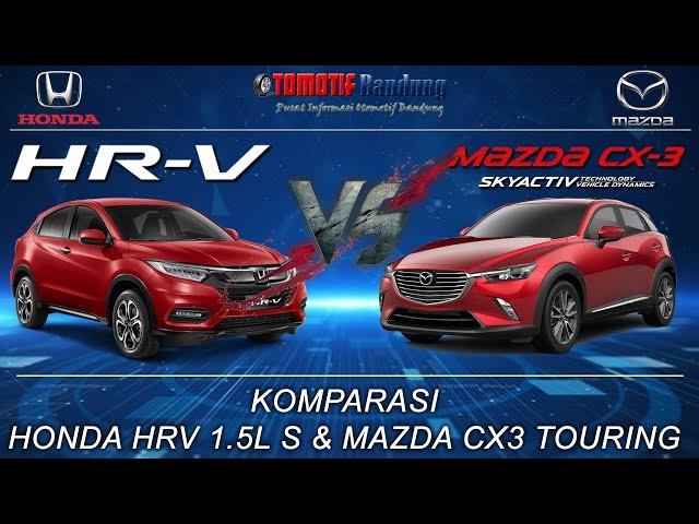 Komparasi Honda HRV vs Mazda CX3