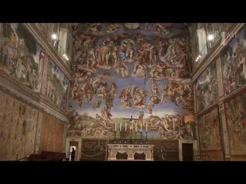 Sistine Chapel - A Vatican Tour - Raphael Tapestries - Chapelle Sixtine - Raffael
