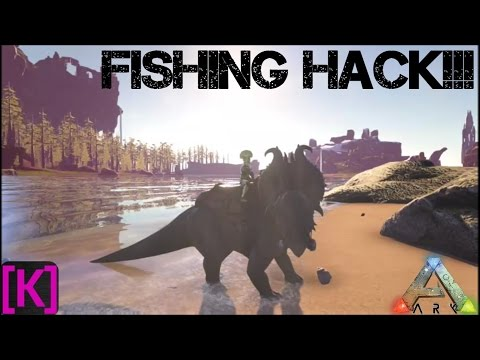 Ark Survival Evolved: New Beginnings: Fishing Hack!!!