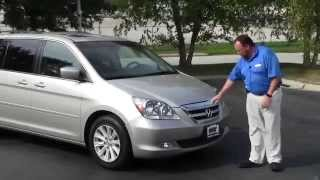 Used 2006 Honda Odyssey Touring for sale at Honda Cars of Bellevue...an Omaha Honda Dealer!
