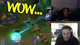 Aphromoo's Reaction to a Nasty Kalista Play   Rick Fox Funny Chat - LoL Funny Stream Moments #200