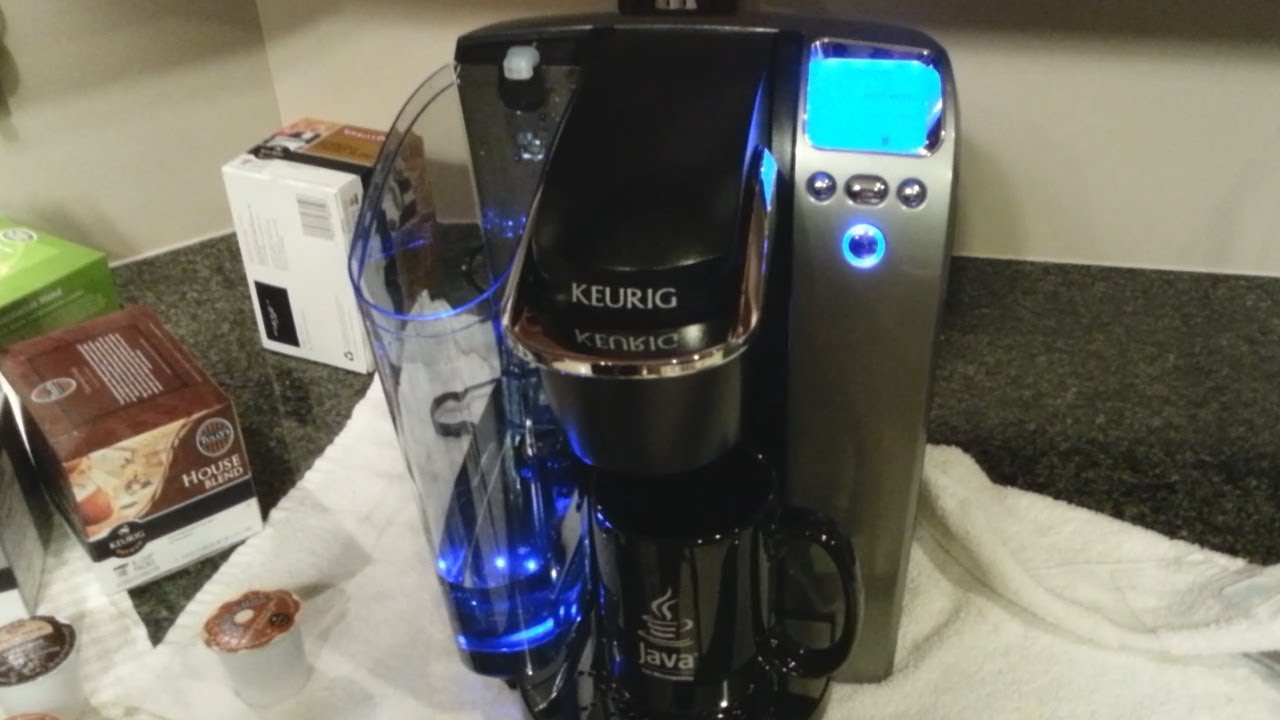 Keurig K75 Platinum Coffee Brewer Unboxing And Features
