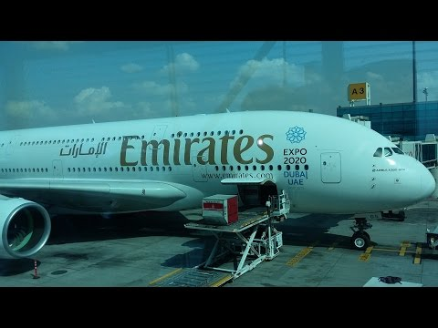 Dubai (To Dubai Int. Airport&Take off A380) Part 22
