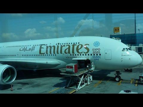 Dubai (To Dubai Int. Airport&Take off A380) Part 22