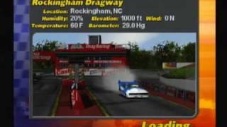 IHRA Drag Racing 2 Gameplay: Top Fuel Go-Kart