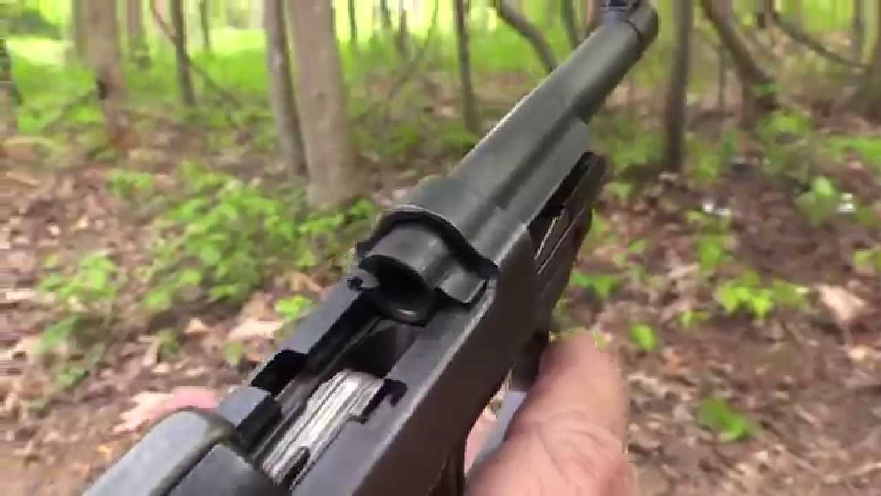 how to clean a walther p38
