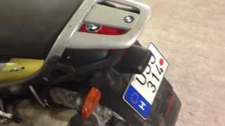 BMW K1200RS with alarm-immobiliser fitted