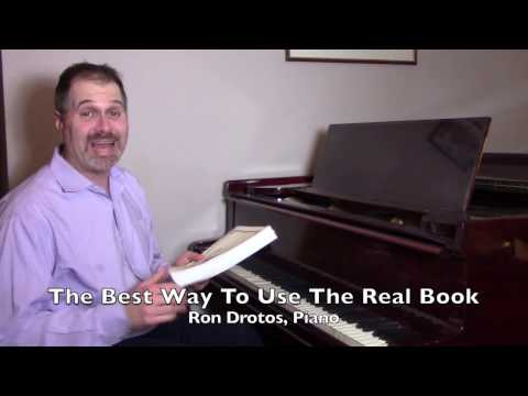 Jazz Piano Tip #20: The Best Way To Use The Real Book