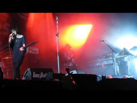 The Horrors - I see you - Luminous Tour - Benidorm - Low Festival - 26-07-14