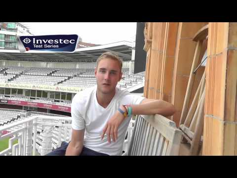 Stuart Broad Interviewed by Steven Finn