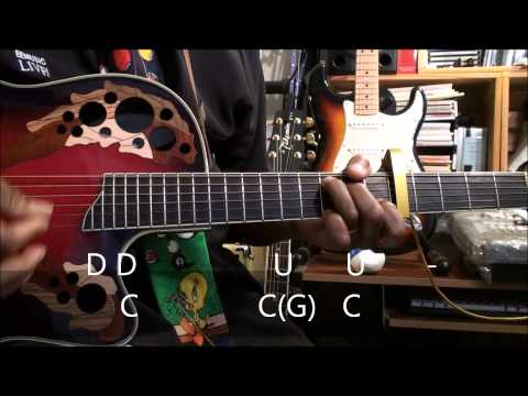 How To Play Strumming Pattern The Duck Song StyleOn Guitar EricBlackmonMusicHSKids