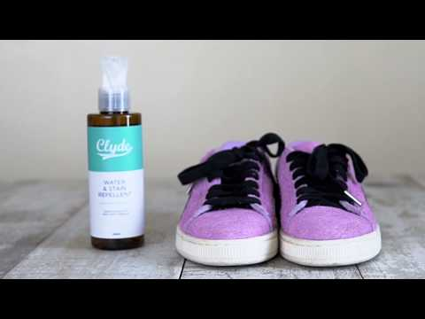 Clyde Water and Stain Repellent on Puma Suede