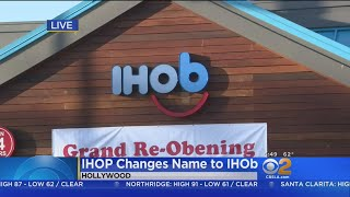 IHOP (Temporarily) Changes Name To IHOb