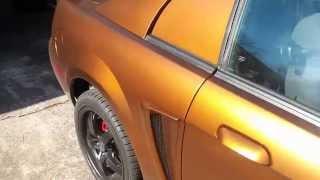 Burnt Copper and Burnt Orange Holographic Flake