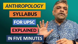 Anthropology Syllabus for UPSC Explained in Five Minutes