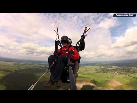 Paragliding Tandem Winch Alfinity G6 Standard