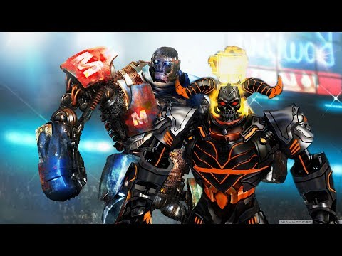 REAL STEEL-METRO vs DIABLO & AQUABOT vs CRIMSONE CARNAGE, SARGE, ZEUS,