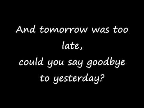 If Today Was Your Last Day Lyrics by Nickelback   YouTube