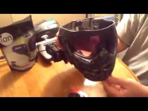 Ion Air Pro 3 Mount For Paintball Marker And Mask