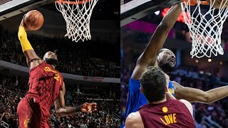 CRAZY Sequence From KD & Lebron On Christmas Day | 12.25.16