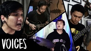Voices - Saosin (Cover by Adri Dwitomo, Angga Tetsuya, Bounty Ramdhan, & Chandra Erin)