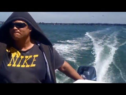 -Gone Fishing With Patu- Waitemata Harbour, Auckland New Zealand Pt.1
