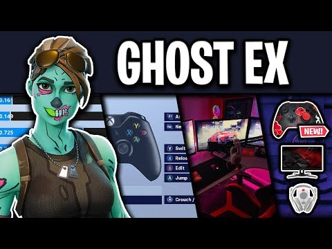 Ghost Ex Fortnite Settings, Controller Binds and Setup (Season 9)