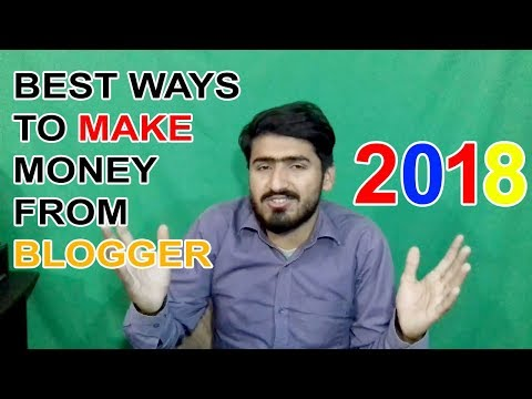 Best Ways To Make Money From Your Blog in 2018-How to make money online