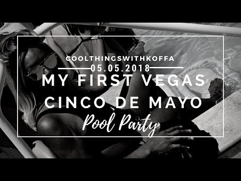 My First Vegas Cinco De Mayo with performances from DJ Pauly D and Trey Songz