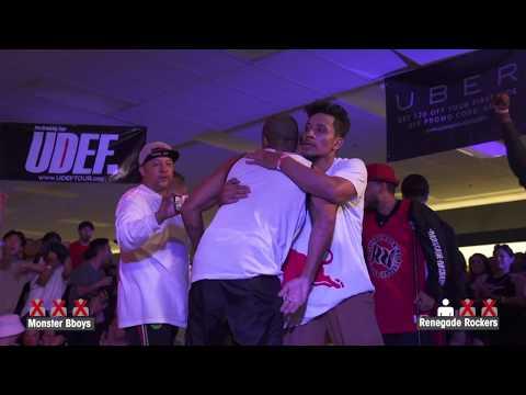 Monster Bboys vs Renegade Rockers (Semifinals) ► .stance x UDEFtour.org ◄ SEC 23rd Anniversary