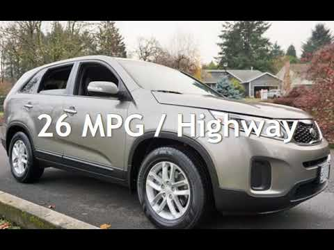 2014 Kia Sorento LX 2 Owners Automatic 26 MPG Loaded for sale in Milwaukie, OR