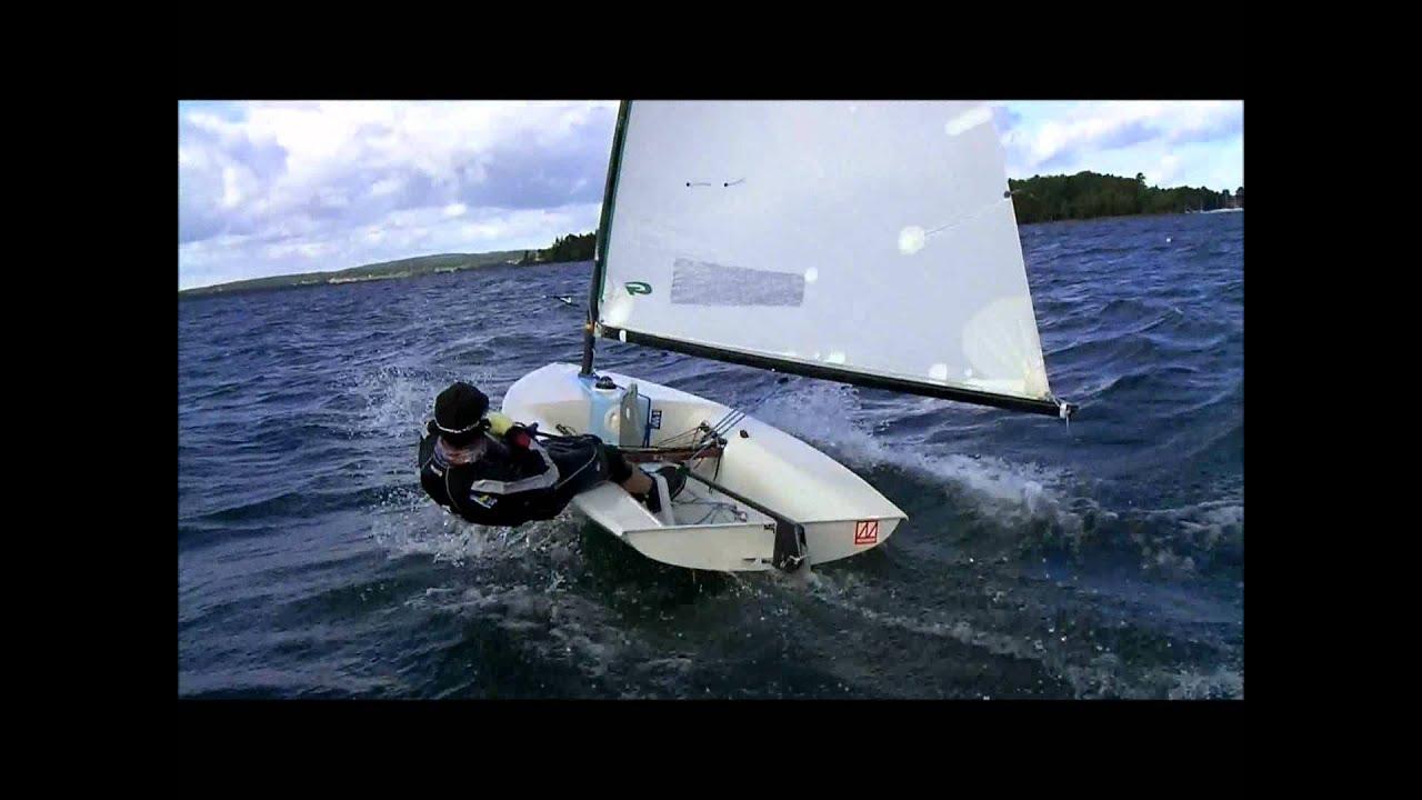 Europe sailing in heavy wind - YouTube