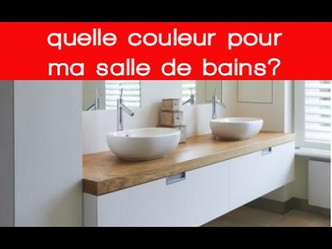 quelles couleurs pour ma salle de bains youtube. Black Bedroom Furniture Sets. Home Design Ideas