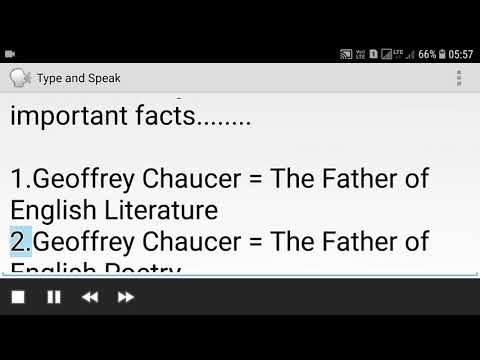 Have U Know Father's Of English Literature With Important Facts
