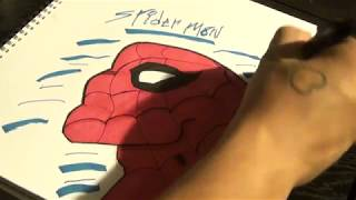 How to Draw Spider-Man easy
