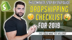 The Ultimate Shopify Dropshipping Checklist For 2019