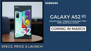 SAMSUNG GALAXY A52 4G - COMING SOON