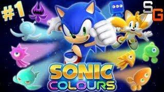 Sonic Colours - Part 1 (Wii U / Wii Playthrough / Walkthrough)
