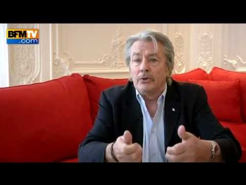 Alain Delon today 05.04.2012, after operation - YouTube