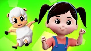 Mary Had A Little Lamb | Nursery Rhymes & Baby Songs | Kindergarten Cartoons For Kids
