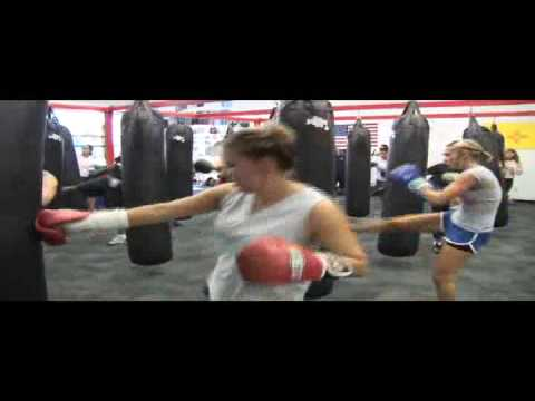 The Best Workout Ever! LA Boxing Workout! Kickboxing Class In Albuquerque