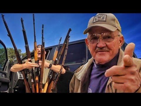 видео: Мосинка, СКС, почти СВД, древний Винчестер и стрелок-виртуоз | Разрушительное ранчо | Перевод Zёбры